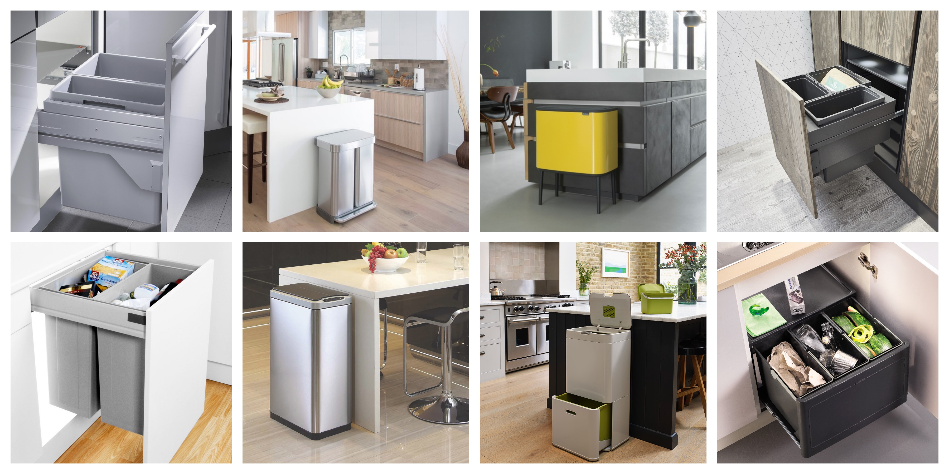 Our Top Ten Kitchen Recycling Bins for 2020