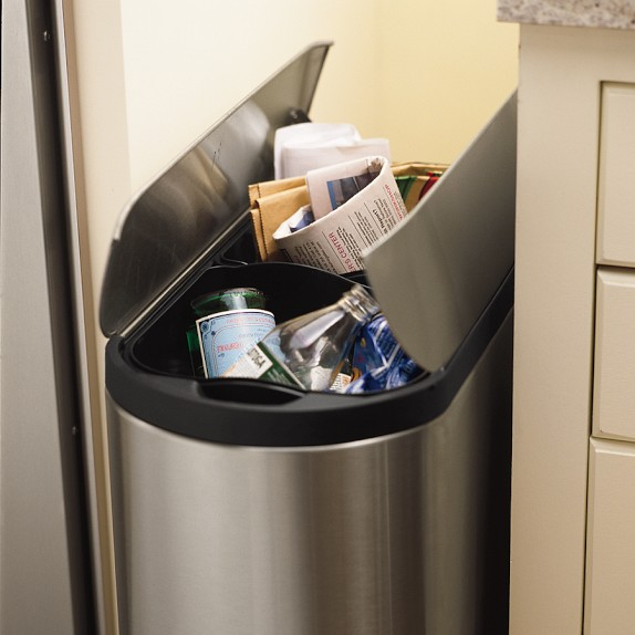 The best slimline Recycling bin: make the most of your space