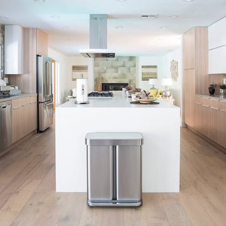 Sheer quality: Simplehuman kitchen bins and recyclers