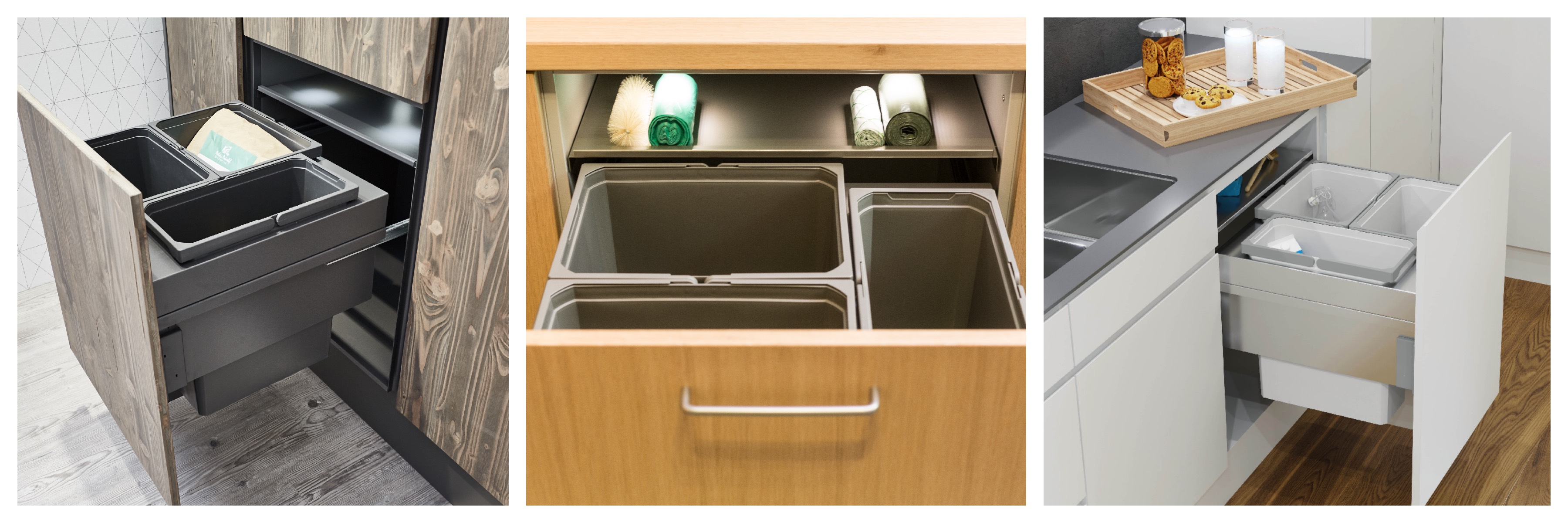 Vauth-Sagel in-cupboard bins: new extended range in stock