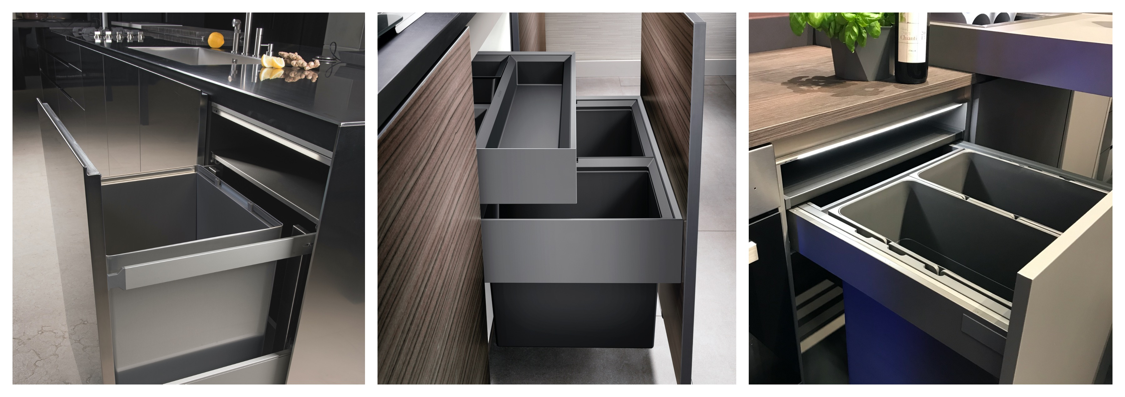 Spring 2020: Best built-in bins for 600mm cabinets