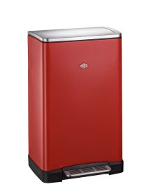 Big Double Boy  2-Compartment 36L Kitchen Recycling Bin - Red : 381411-02