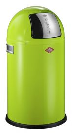 Pushboy Junior Single Compartment 22L Kitchen Bin: Lime Green 175531-20