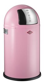 Pushboy Junior Single Compartment 22L Kitchen Bin: Pink 175531-26