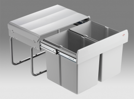 Shorty 30L Low-Level 2-Compartment Recycler 757WS411-85: 500mm Door