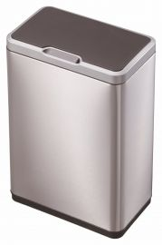 Mirage Sensor 2-Compartment Recycling Bin 40L Stainless Steel - 927VB840