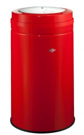 Big Swing Single Compartment 120 Litre Bin in Red: 350931-02