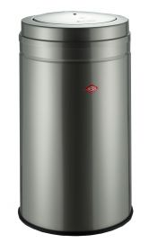 Big Swing Single Compartment 120 Litre Bin in New Silver 120L: 350931-03