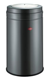 Big Swing Single Compartment 120 Litre Bin in Graphite: 350931-13