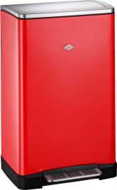 One Boy Single Compartment 40L Kitchen Bin Red: 381401-02