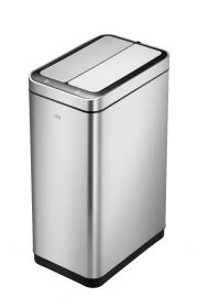 Deluxe Slimline Single Compartment Sensor Bin 30L Stainless Steel - 928VB730