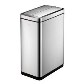 Deluxe Slimline Single Compartment Sensor Bin 45L Stainless Steel - 928VB745