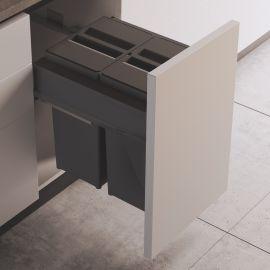 Linea 580 Plus 2 Compartment 58L Recycler : 450mm Door