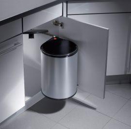 Big Box Single Compartment 20L Waste Bin: 400mm Door