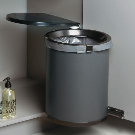 Mullboy 30L In-cupboard Swing Out Bin: 450mm Door