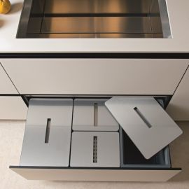 Tecnobig 4-Compartment 74L Recycler - 900mm Drawer