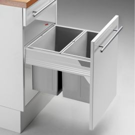 Pullboy-Z 52L 2-Compartment Recycler 827WS466-11: 450mm Door