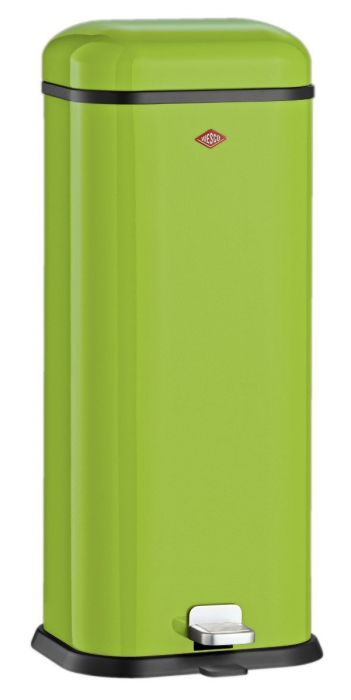 Superboy Single Compartment 20L Kitchen Pedal Bin Lime Green 132312-20