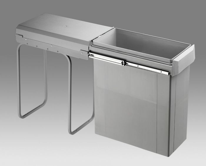 Big Boy Single Compartment Bin 40L 755WS640-85: 300mm Door