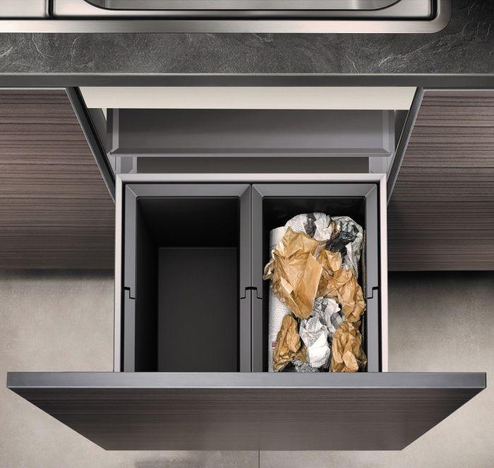 Select 50 / 2 Compartment 38L Recycler: 500mm Door