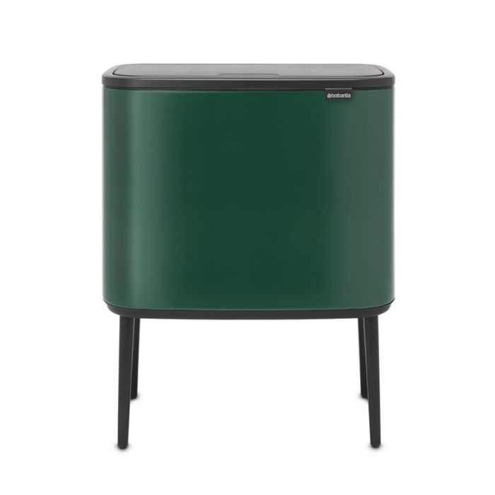 Bo Touch Single Compartment Bin 36 Litres - Pine Green