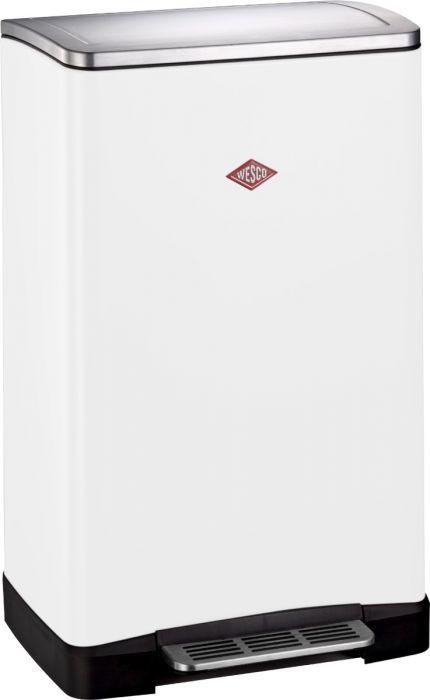 One Boy Single Compartment 40L Kitchen Bin White: 381401-01