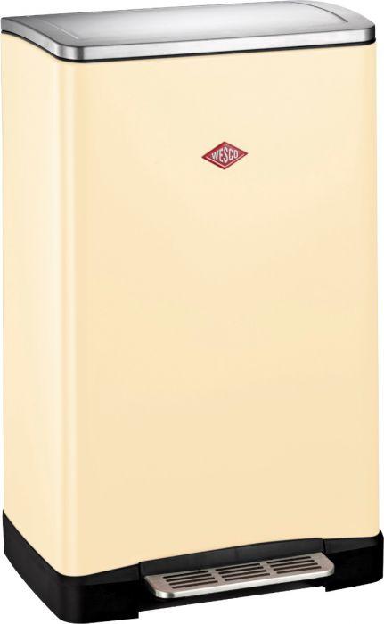 One Boy Single Compartment 40L Kitchen Bin Almond: 381401-23