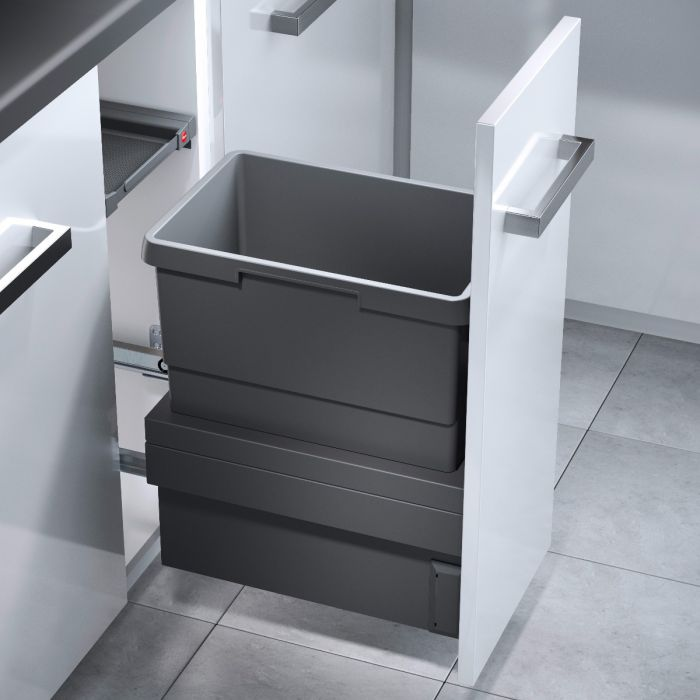 Cargo Synchro Single Compartment 30L Bin 3608-311: 300mm Door