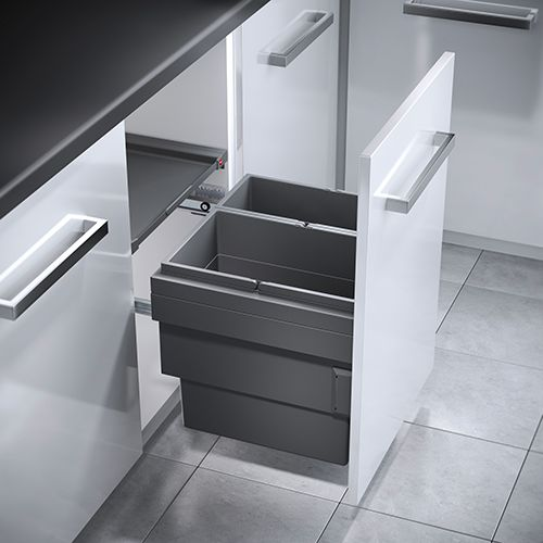 Cargo Synchro 2 Compartment 46L Recycler 3608-521: 500mm Door