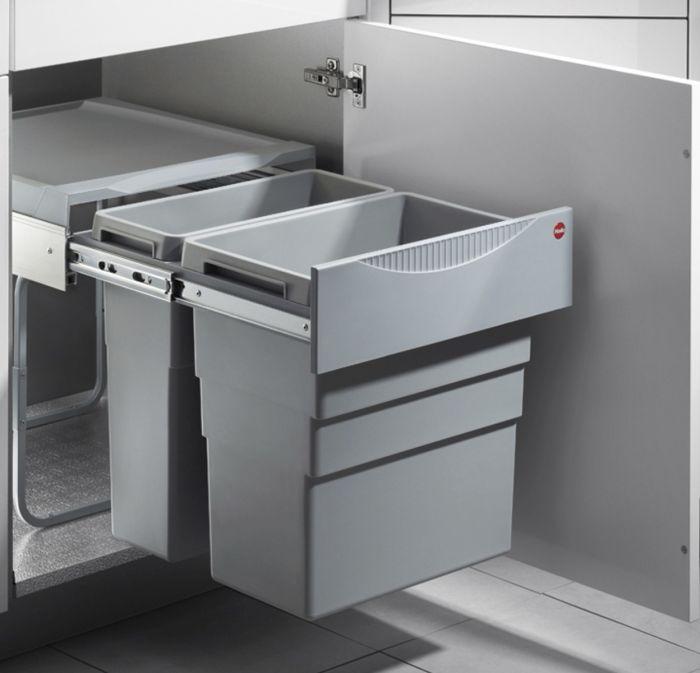 Easy Cargo 2 Compartment 49L Recycler: 500mm Door