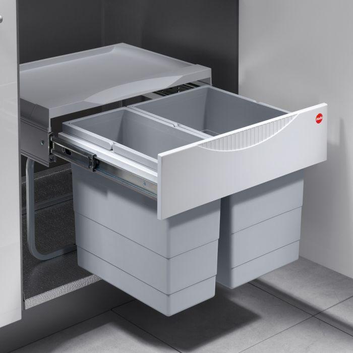 Tandem 2 Compartment 30L Recycler: 500mm Door