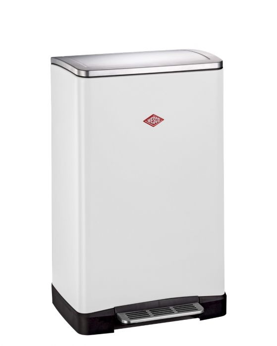Big Double Boy 2-Compartment 36L Kitchen Recycling Bin - White : 381411-01