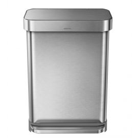 Rectangular Liner Pocket Pedal Bin 55L - CW2023