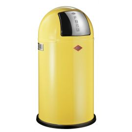 Pushboy Bin in Yellow - 50L: 175831-19