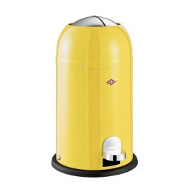 Kickmaster Junior Pedal Bin 12L Yellow 180312-19