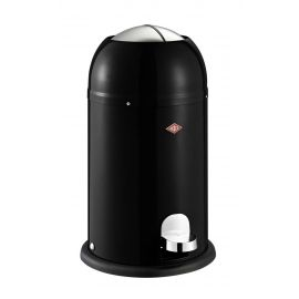 Kickmaster Junior Pedal Bin 12L Black 180312-62