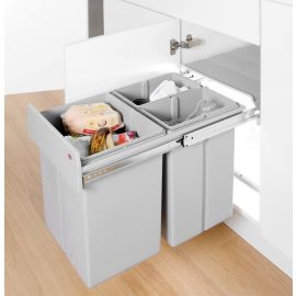 Bio Trio 40L 3-Compartment Recycler 757721-85: 400mm Door