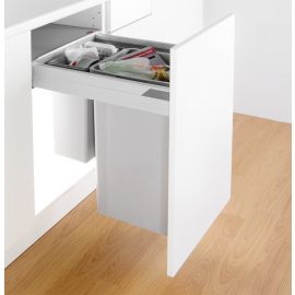 Pullboy-Z 42L 2-Compartment Recycler 827WS418-11: 400mm Door