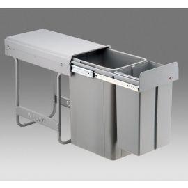 Big Bio Double 36L 2-Compartment Recycler 757WS801-85: 300mm Door