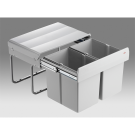 Shorty 30L Low-Level 2-Compartment Recycler 757411-85: 500mm Door