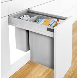 Pullboy-Z 36L 2-Compartment Recycler 827WS416-11: 400mm Door
