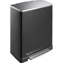E-Cube Black Recycling Pedal Bin 46L - VB 926846 BLK
