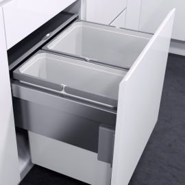 VS Envi Space Pro 60L 600-2 Silver Grey : 600mm Door