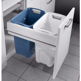 Built in Laundry Carrier 66L: 450mm Door