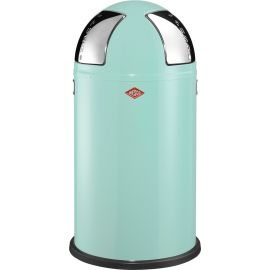 Wesco Push Two Recycling Bin in Mint - 50L - 175861-51