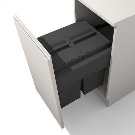 Linea 580 Plus 58L 2 Compartment Recycler : 450mm Door