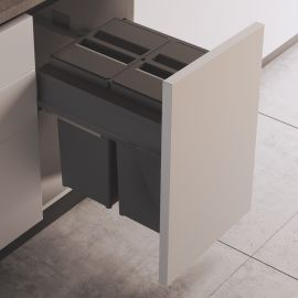 Linea 580 Plus 58L 2 Compartment Recycler : 450mm Door