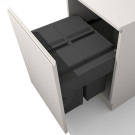 Linea 580 Plus 80L 2 Compartment Recycler : 600mm Door