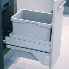 Euro Cargo-S 30L Waste Bin: 300mm Door