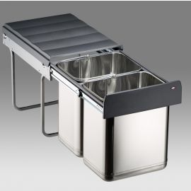 Master Stainless Steel 40L Recycler 787914-42: 400mm Door